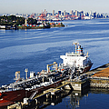 Downtown Vancouver Seen From Dockside by Jeremy Woodhouse