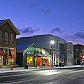 Downtown Waterville At Christmastime by Jack Schultz