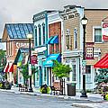 Downtown Waterville by Jack Schultz