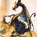 Dragon At Work by Phyllis Kaltenbach