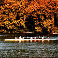 Dragon Boat On The Schuylkill by Bill Cannon
