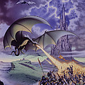 Dragon Combat by The Dragon Chronicles - Steve Re