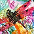 Dragonfly Fairy II by Miriam  Schulman