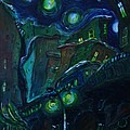Dreamy City by William Bezik