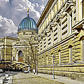 Dresden Academy Of Fine Arts by Christine Till