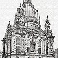 Dresden's Church Of Our Lady - Reminder Of Peace by Christine Till
