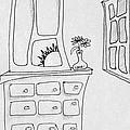 Dresser And Window by Dennis Casto