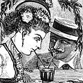 Drinking, 1875 by Granger