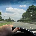 Drivers Window by Rick Praskac