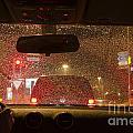 Driving A Car At Night by Mats Silvan