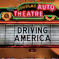 Driving America Douglas Auto Theatre by Nicholas  Grunas