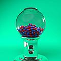 Drug Pills In A Sweet Dispenser by Christian Darkin