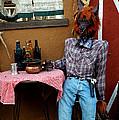 Drunk Werewolf Diner by LeeAnn McLaneGoetz McLaneGoetzStudioLLCcom