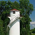 Dry Land Lighthouse 1 by Douglas Barnett