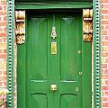 Dublin Door Three by Kathleen Horner