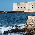 Dubrovnik Fortification And Bay by Artur Bogacki