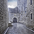 Dubrovnik In The Rain - Old City by Madeline Ellis