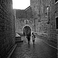 Dubrovnik In The Rain by Madeline Ellis
