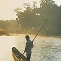 Dugout Boat by Darwin Wiggett