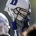 Duke Football Helmet by Duke University