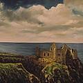 Dunluce Castle by Robert Gary Chestnutt