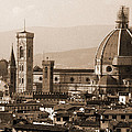 Duomo With Scaffolding by Donna Corless