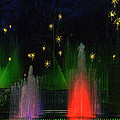Dupont Gardens Singing Fountain by Aron Chervin