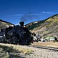 Durango And Silverton Train by Sally Weigand