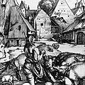 Durer: Prodigal Son, 1496 by Granger