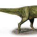 Duriavenator Hesperis, A Prehistoric by Sergey Krasovskiy