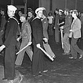 During Zoot Suit Riot, Los Angeles by Everett