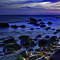 Dusk At Montauk Point by Rick Berk