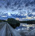 Dusk At The Abol Bridge by Lori Deiter