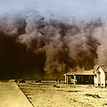 Dust Storm, 1930s by Omikron