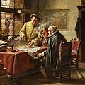 Dutch Merchants by Fritz Wagner