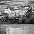 Dutch Windmills by Francesco Riccardo  Iacomino
