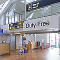 Duty Free Shop At An Airport by Jaak Nilson