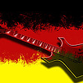 E-guitar - German Rock II by Melanie Viola