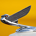 Eagle Hood Ornament by Chris Dutton