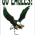 Eagles Vs Dallas by Bill Cannon