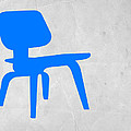 Eames Blue Chair by Naxart Studio