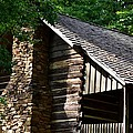 Early 19th Century Log Cabin by Maria Urso