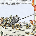 Early Firefighting Equipment, 1569 by Sheila Terry