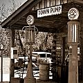 Early Gas Station by Douglas Barnett