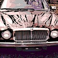 Early Jaguar Xj6 by George Pedro