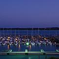 Early Morning At The Marina by Sean Davis