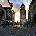 Early Morning Court Street by Michael Frank Jr