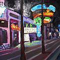 East Fremont St Colors by Kathleen Strukoff
