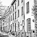 East Montgomery St  Balitmore Md  by Fred Kirchhoff