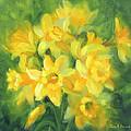 Easter Daffodils by Karin  Leonard